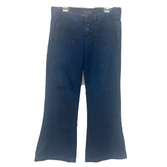Old Navy Denim - Old Navy The Diva Button Fly Wide Leg Jeans 10
